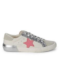 Vintage Havana Glittered Star Sneakers