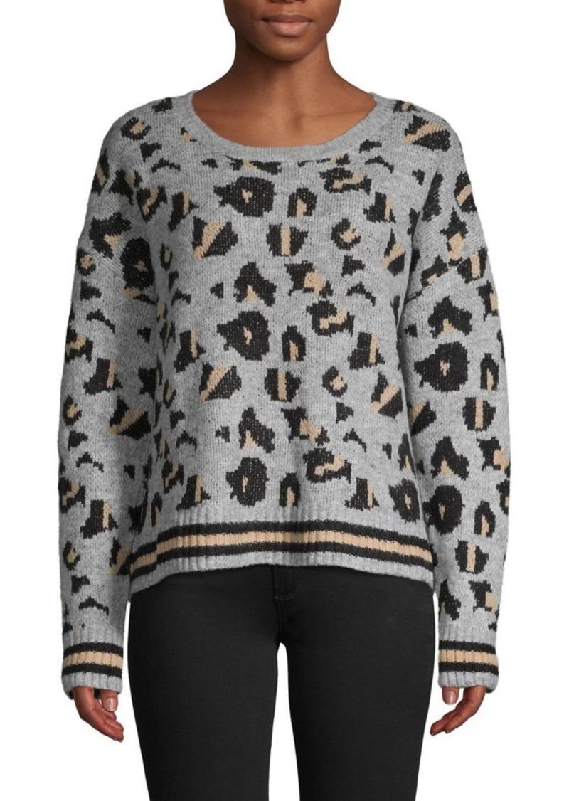 Vintage Havana Animal-Print Sweater