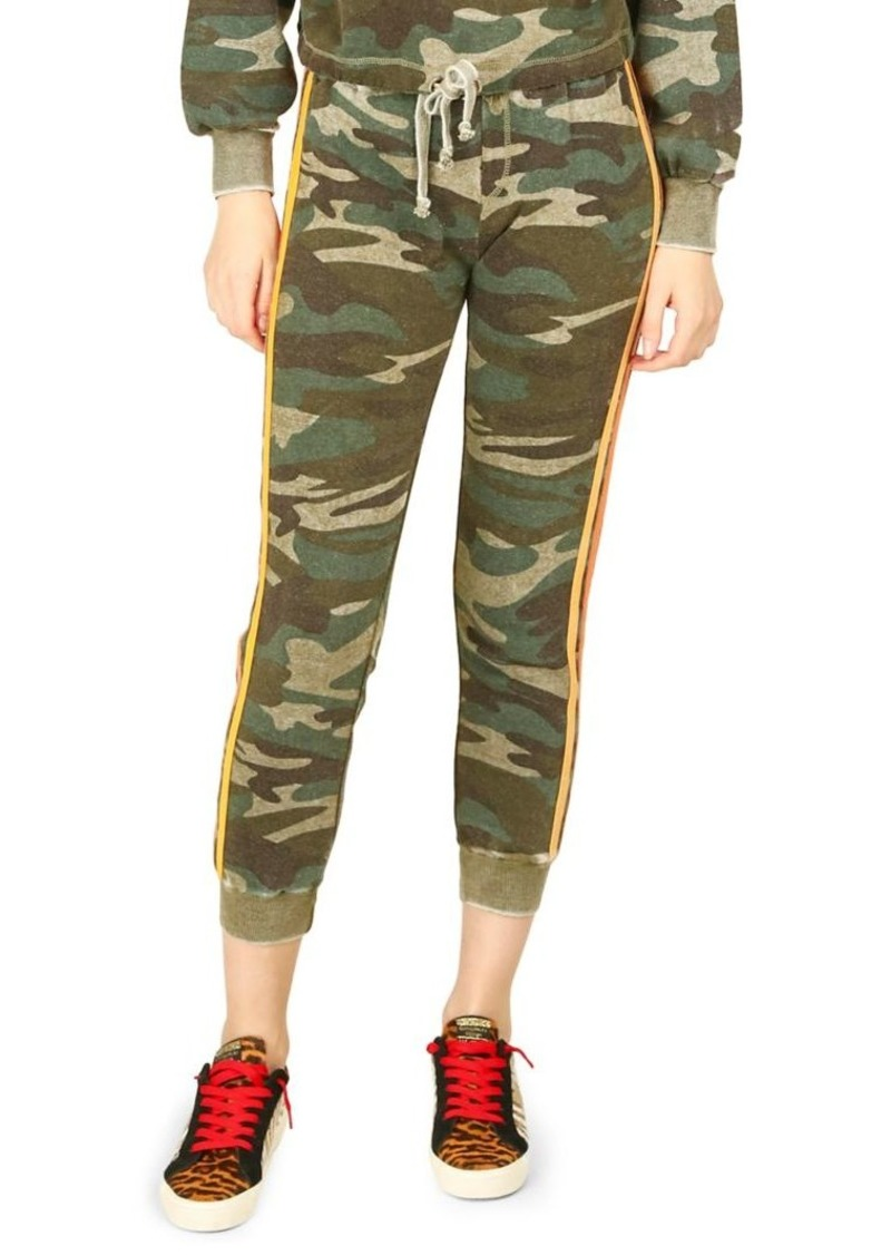 Vintage Havana Camouflage Cotton-Blend Jogger Pants