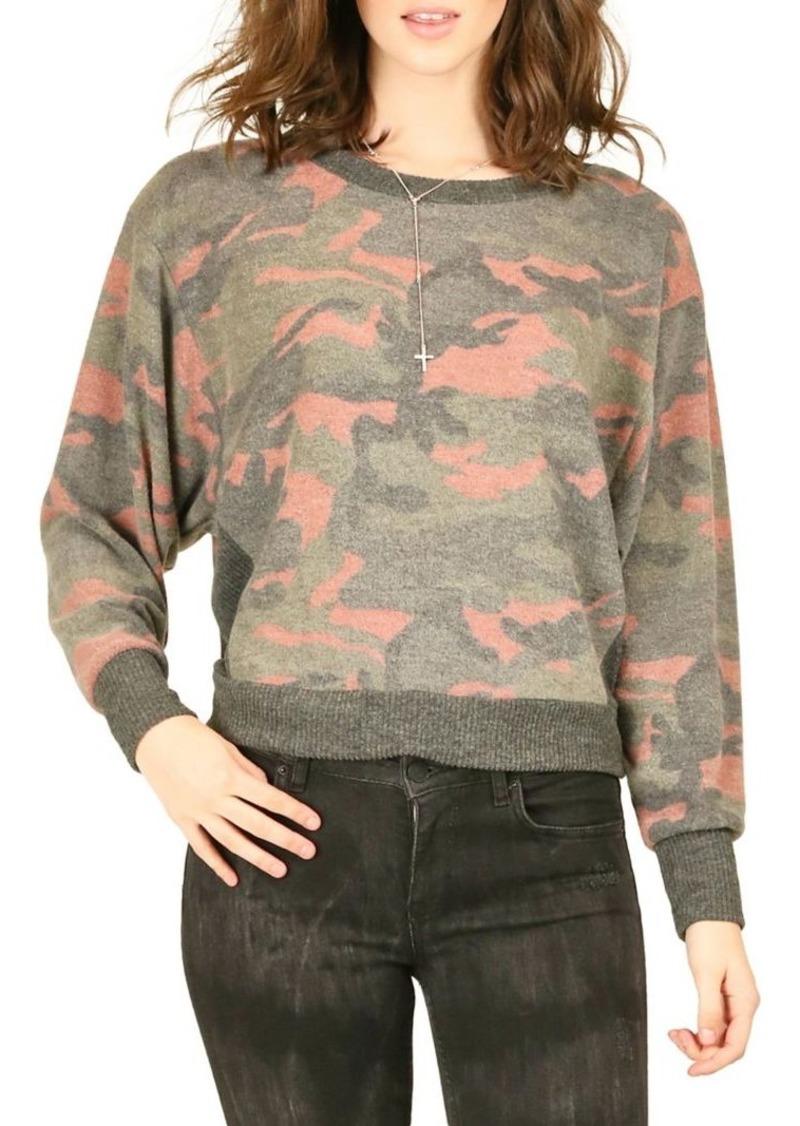 Vintage Havana Camouflage Crewneck Sweater