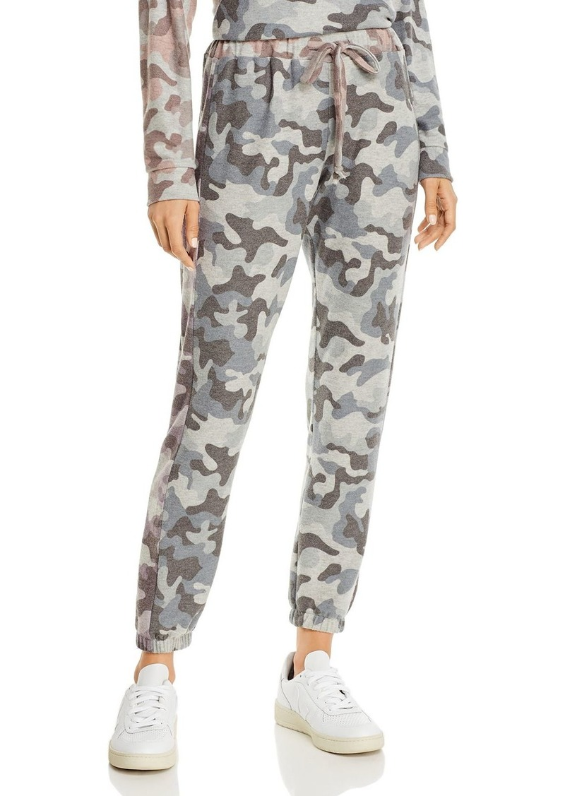Vintage Havana Color-Block Camo Sweatpants