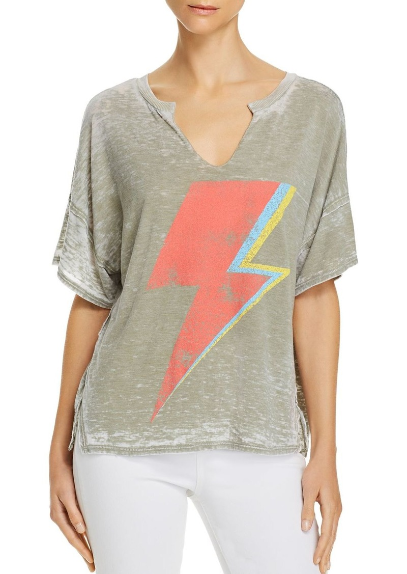 Vintage Havana Lightning Bolt Burnout Tee