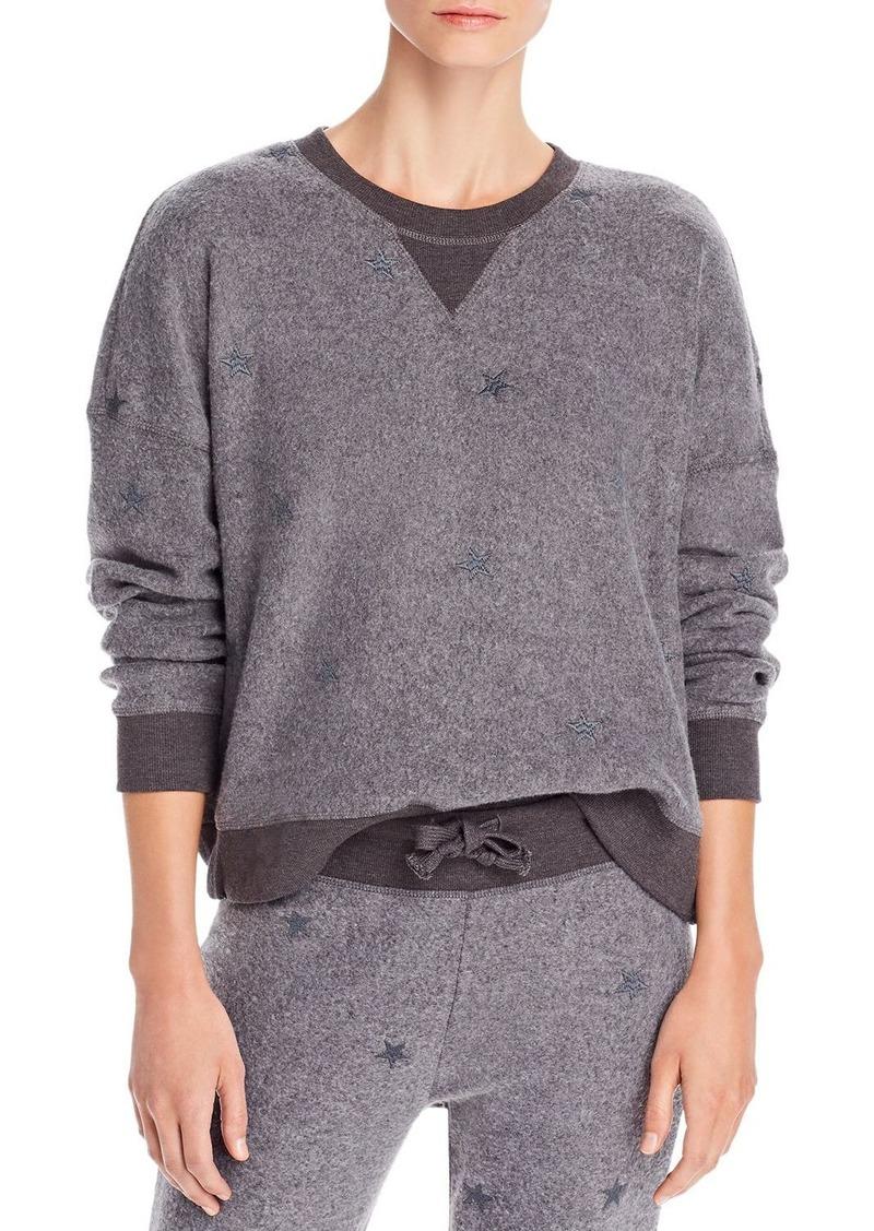 Vintage Havana Reverse Fleece Embroidered Sweatshirt