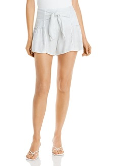 Vintage Havana Tie Front Shorts