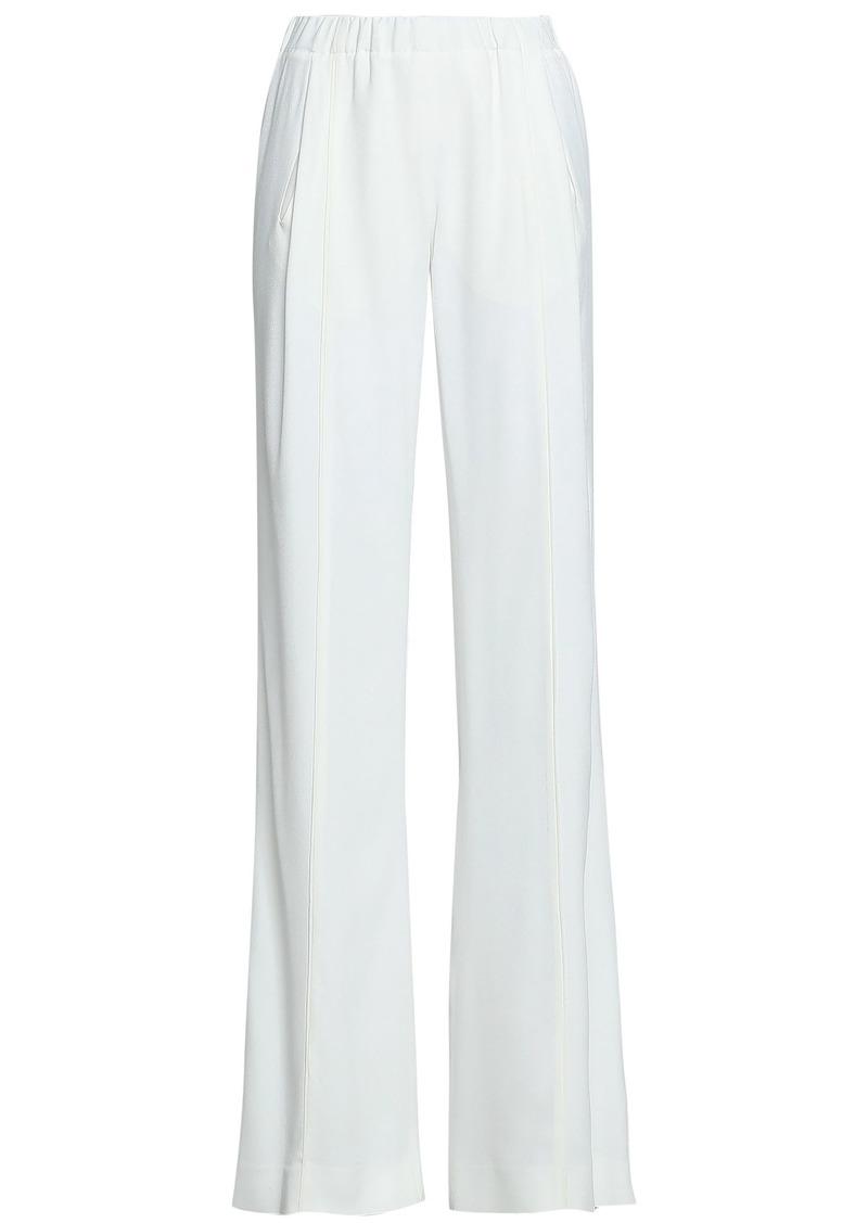 Vionnet Woman Crepe Wide-leg Pants White