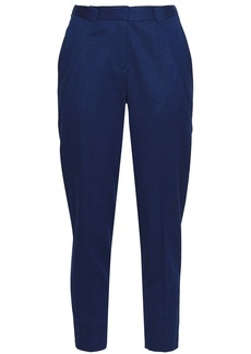 Vionnet Woman Stretch-wool Twill Tapered Pants Royal Blue