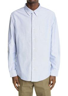 VISVIM Albacore Lungta Button-Down Cotton Shirt