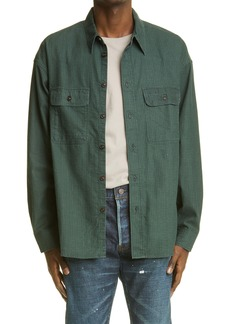VISVIM Lumber Check Flannel Button-Up Shirt