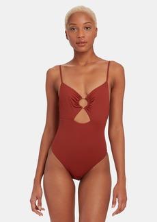 Vitamin A Bedette One-Piece Swimsuit - XL