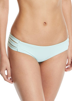 Vitamin A Emelia Triple-Strap Swim Bikini Bottom