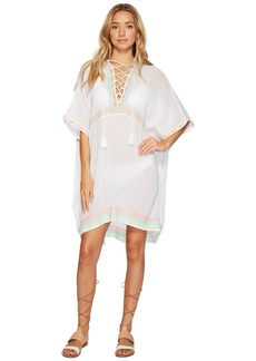 Vitamin A Isabell Short Caftan Cover-Up