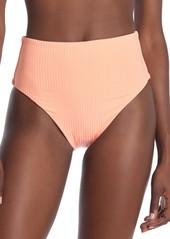 Vitamin A Lupe Ribbed High Waist Bikini Bottoms