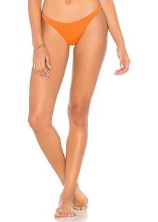 vitamin A Samba Ruched Bikini Bottom
