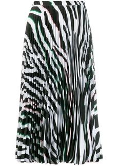 Vivetta animal print skirt