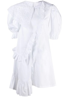 Vivetta asymmetric ruffle detail dress