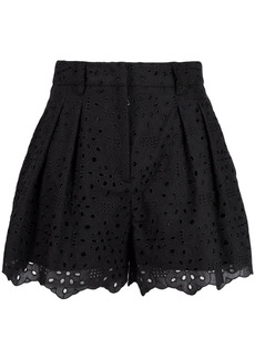Vivetta broderie-anglaise high-waisted shorts