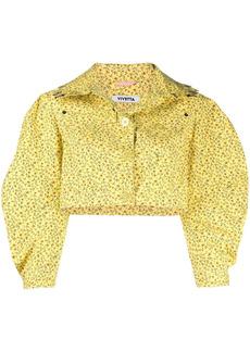 Vivetta cropped floral-print jacket