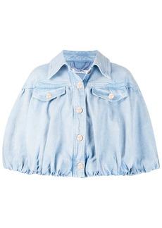 Vivetta cropped oversized denim jacket