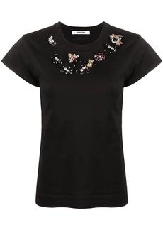 Vivetta crystal-embellished T-shirt