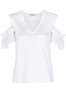 Vivetta drop-shoulder ruffled T-shirt