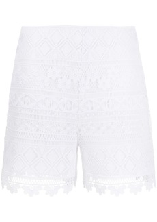 Vivetta embroidered contrast panel shorts