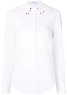 Vivetta embroidered hand-collar shirt