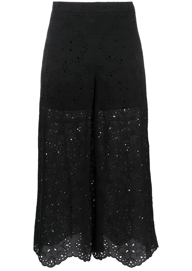 Vivetta high waisted lace trousers