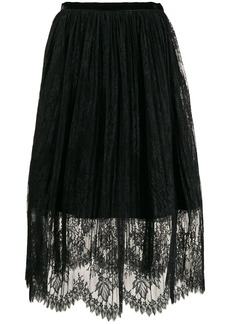 Vivetta layered lace skirt