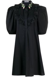 Vivetta puff sleeve shift dress