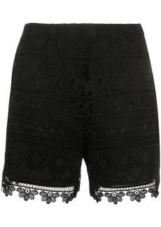 Vivetta scalloped hem shorts