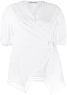 Vivetta v-neck lace blouse