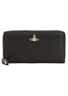 Vivienne Westwood Balmoral Leather Zip Around Wallet