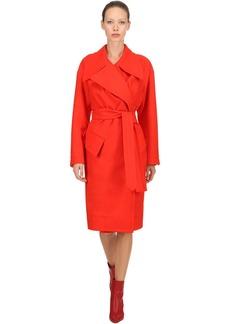 Vivienne Westwood Belted Wool Cloth Coat