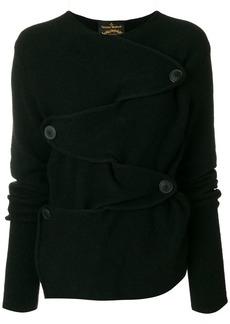 Vivienne Westwood buttoned front jumper