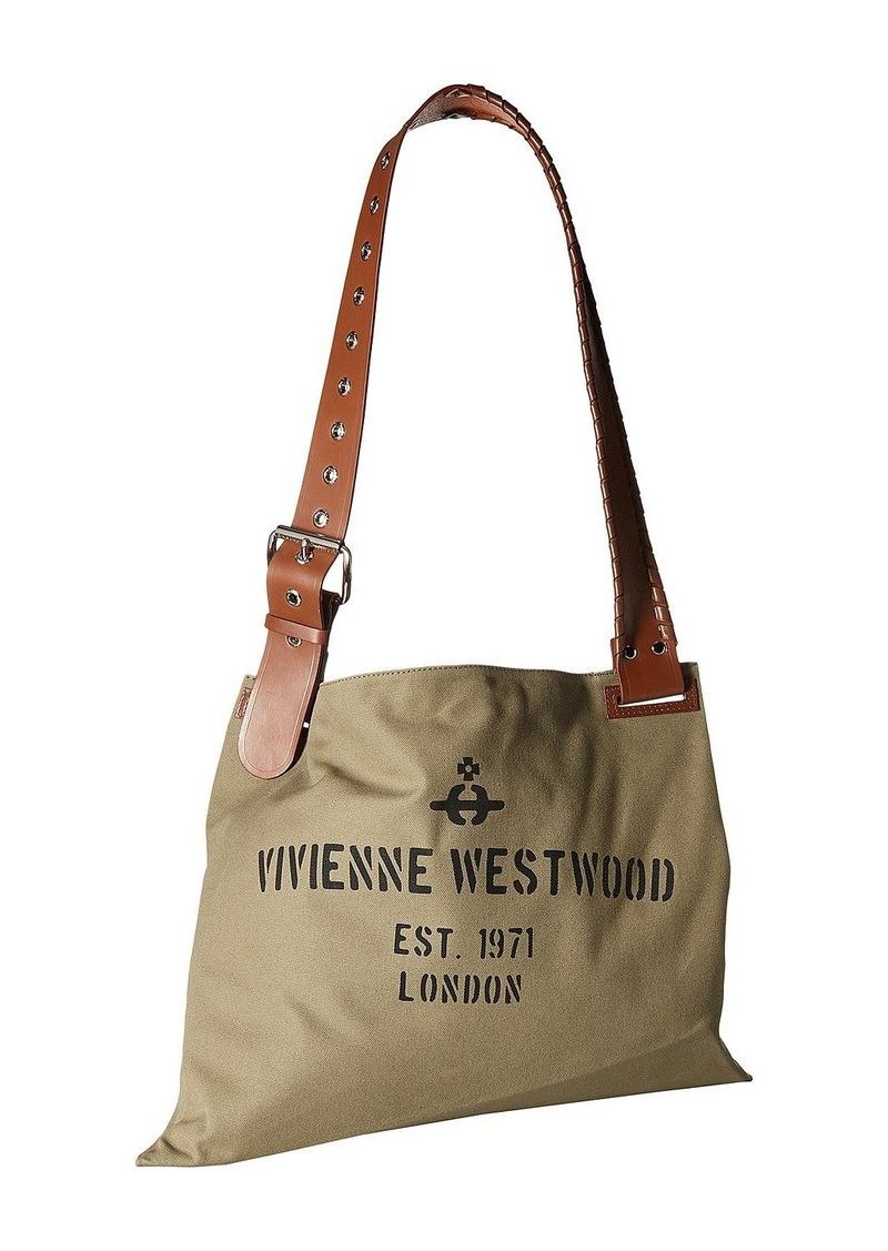 d8b5eff3a Vivienne Westwood Charlotte Canvas Shopper | Handbags