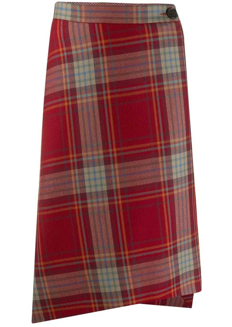 Vivienne Westwood check print skirt