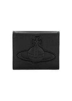 Vivienne Westwood Chelsea Embossed Logo Leather Wallet