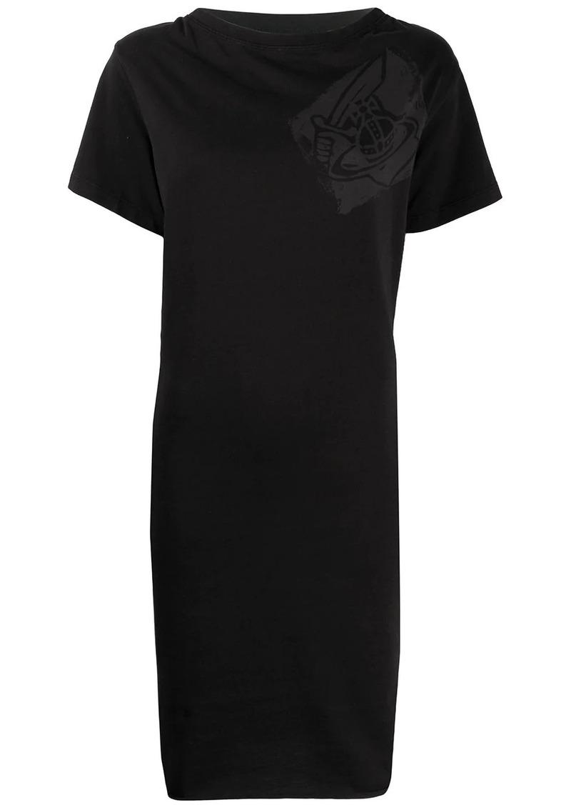 Vivienne Westwood chest logo T-shirt dress