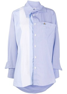 Vivienne Westwood colour-block cotton shirt