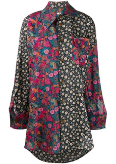 Vivienne Westwood contrast panel shirt
