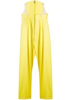 Vivienne Westwood corset straight-leg trousers