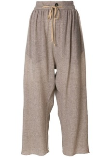 Vivienne Westwood cropped wide-leg trousers