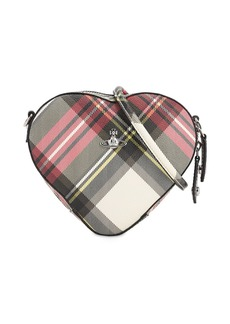 Vivienne Westwood Derby Coated Canvas Heart Bag