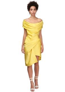 Vivienne Westwood Devana Draped Satin Mini Dress