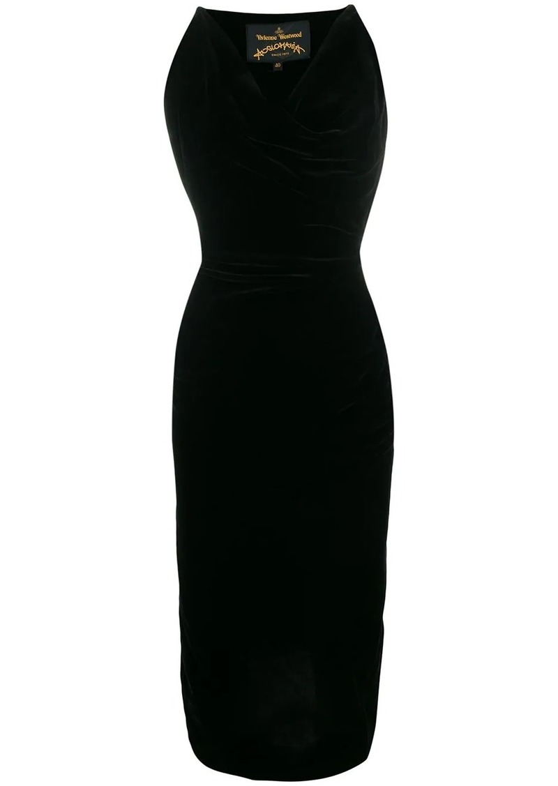 Vivienne Westwood draped design dress