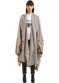 Vivienne Westwood Draped Wool Blend Coat