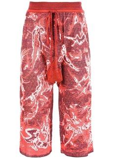 Vivienne Westwood drawstring knee-length shorts