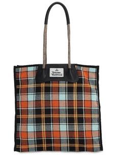 Vivienne Westwood Elena Cotton Canvas Tote Bag