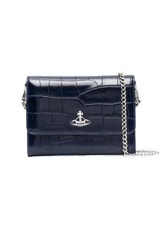 Vivienne Westwood embossed-leather clutch bag