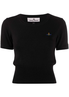 Vivienne Westwood embroidered logo T-shirt